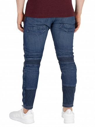 G-Star Blue Motac Deconstructed 3D Slim Jeans
