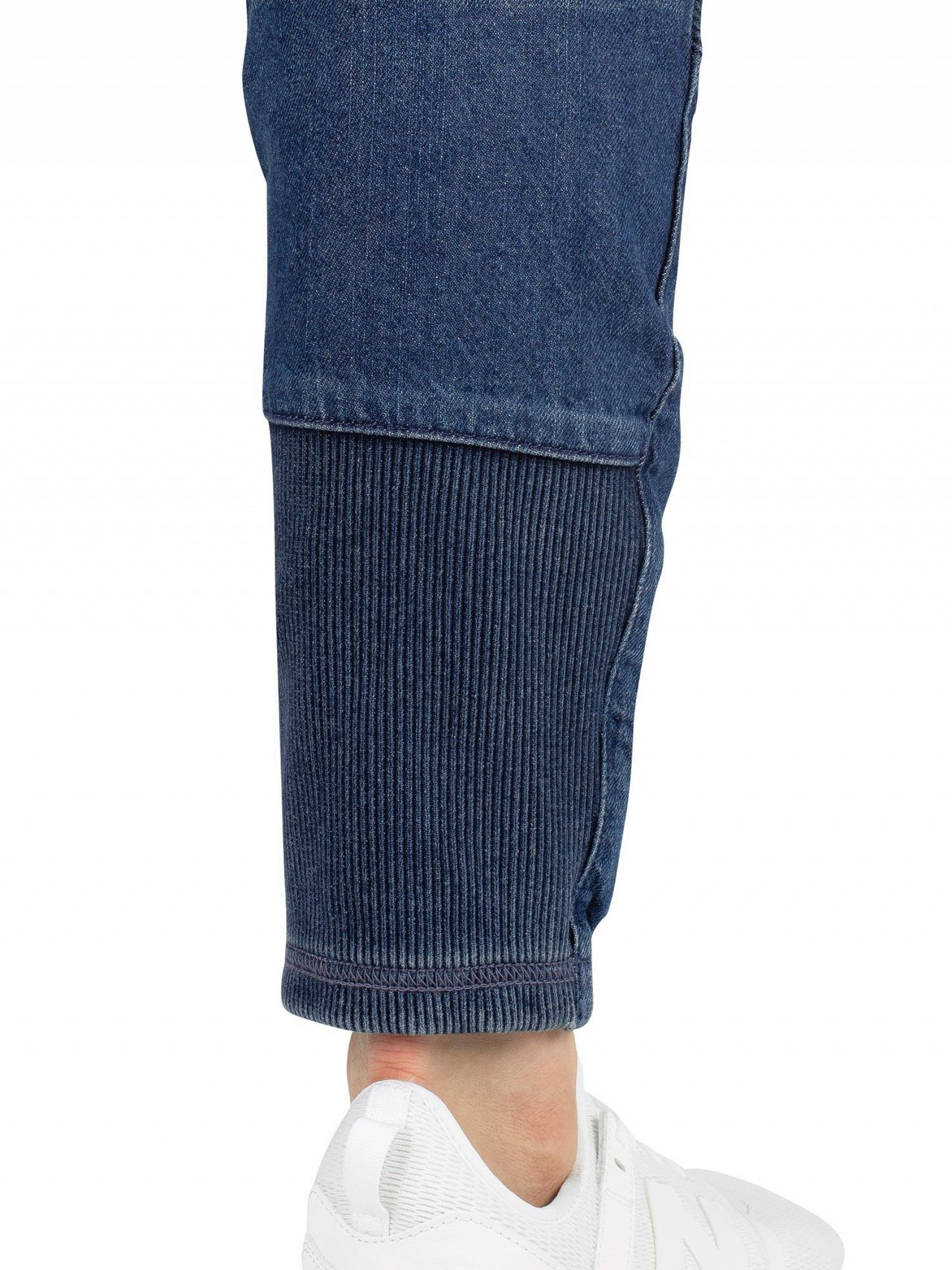 598518e1249 G-Star Blue Motac Deconstructed 3D Slim Jeans | Standout