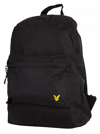 Lyle & Scott True Black Core Backpack