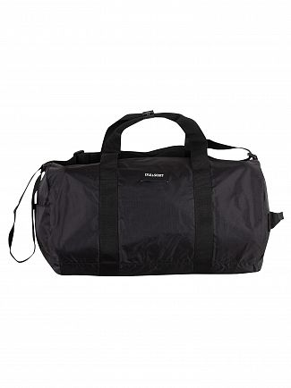 Lyle & Scott True Black Lightweight Barrel Bag