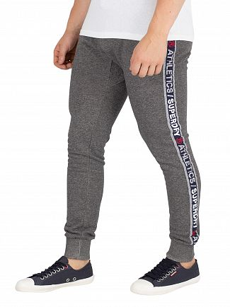 Superdry Dark Grey Stadium Joggers