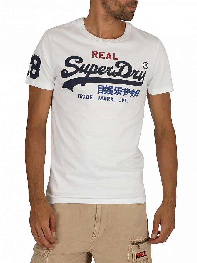 Superdry Optic Vintage Logo Tri T-Shirt