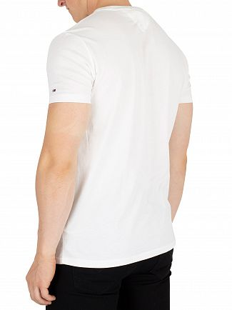Tommy Jeans Classic White Essential Graphic T-Shirt