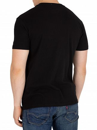 Tommy Jeans Black Essential Graphic T-Shirt