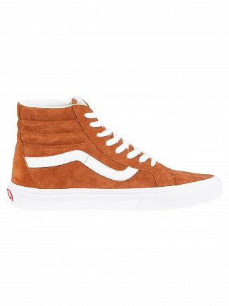 Vans Brown Sk8-Hi Reissue Suede Trainers