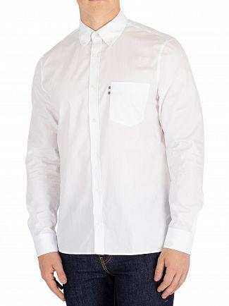 Aquascutum White Casper Poplin Shirt