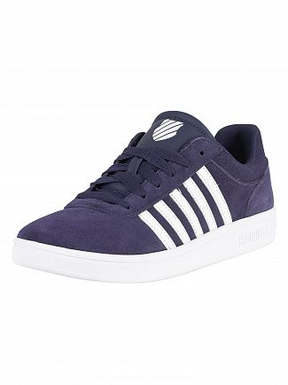 K-Swiss Navy/White/White Court Cheswick SDE Trainers