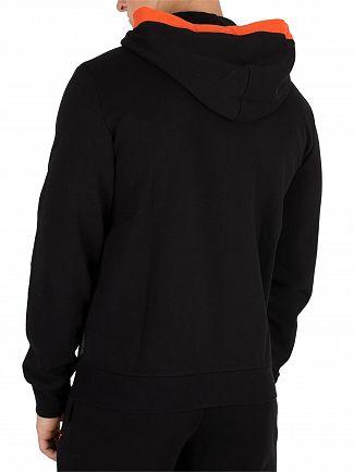 Emporio Armani Black Zip Hoodie