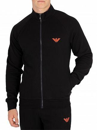 Emporio Armani Black Zip Jacket