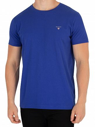 Gant Yale Blue Original T-Shirt