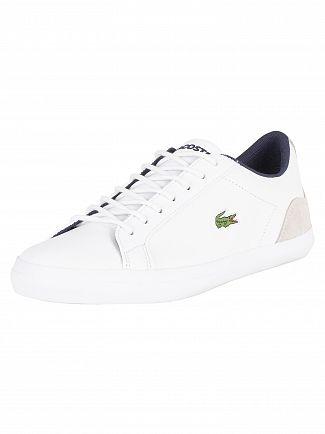 Lacoste White/Navy Lerond 318 3 CAM Trainers