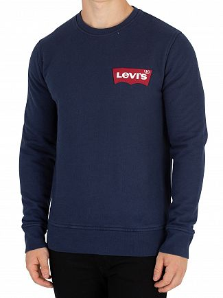 Levi's Dress Blue Modern Batwing Sweatshirt