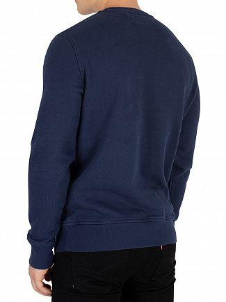 Levi's Dress Blue Modern Batwing Sweatshirt
