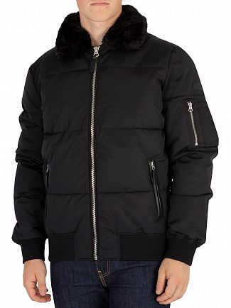 Schott Black Airman Jacket