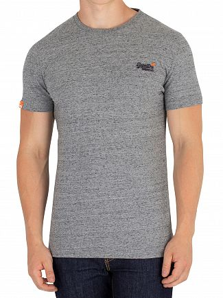 Superdry Flint Steel Grit Orange Label Vintage EMB T-Shirt