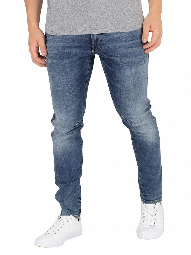 G-Star Medium Aged D-Stag 3D Skinny Jeans