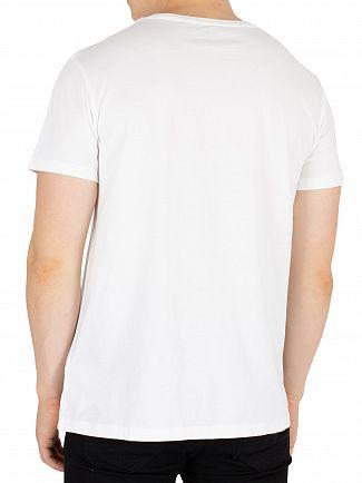 Timberland White Graphic T-Shirt