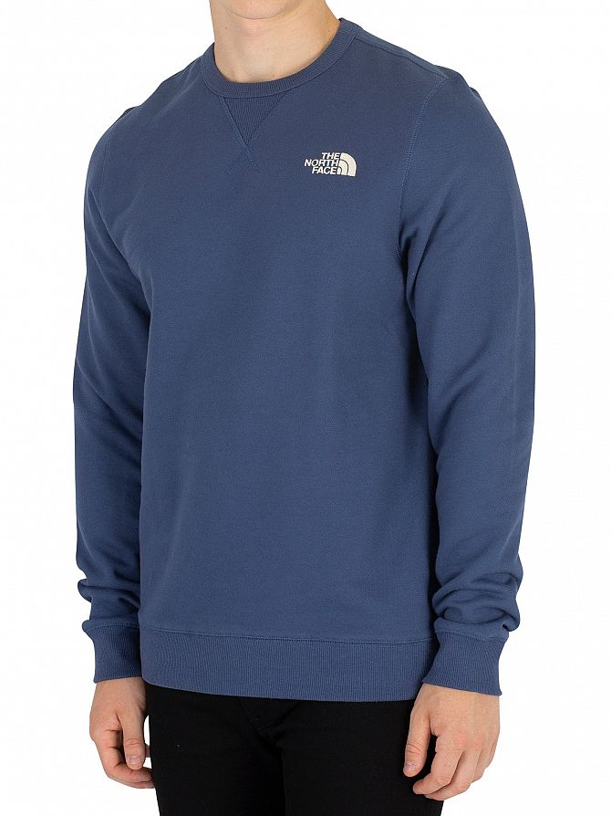 The North Face Shady Blue Street Fleece Sweatshirt