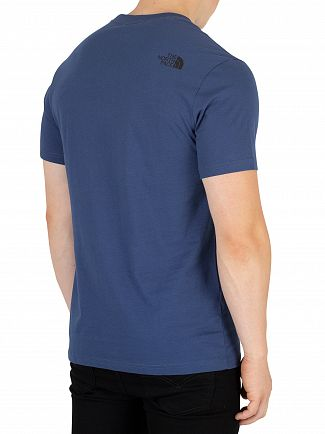 The North Face Shady Blue Fine T-Shirt
