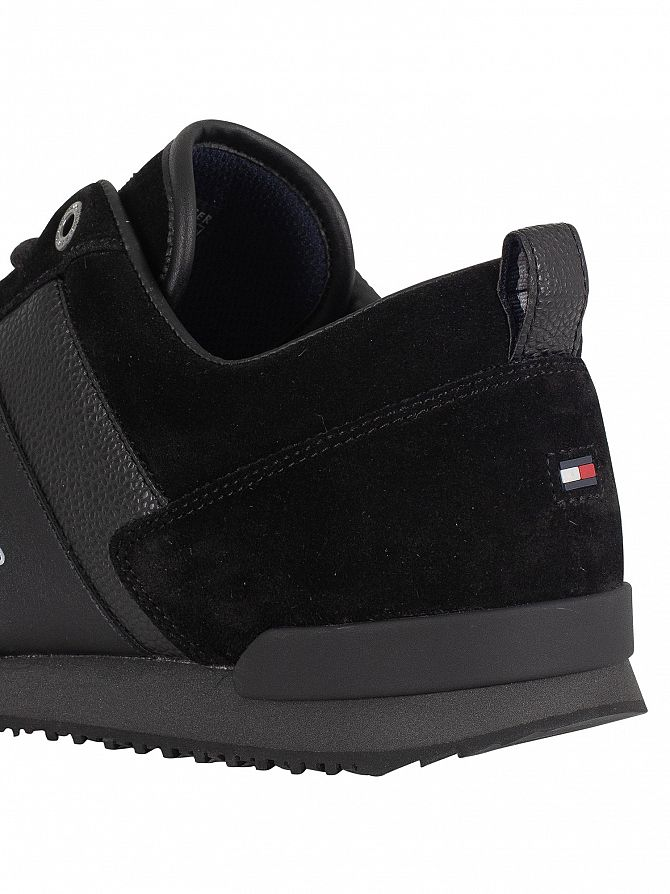 e0f2c5e5a Tommy Hilfiger Men  039 s Iconic Leather Suede Trainers