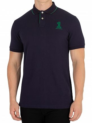 Hackett London Navy New Classic Polo shirt