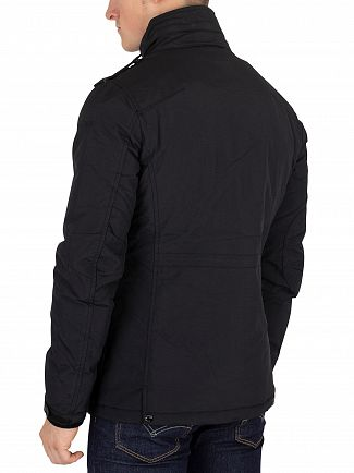 Schott Black Field Jacket