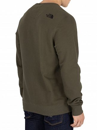 The North Face New Taupe Green Street Sweatshirt