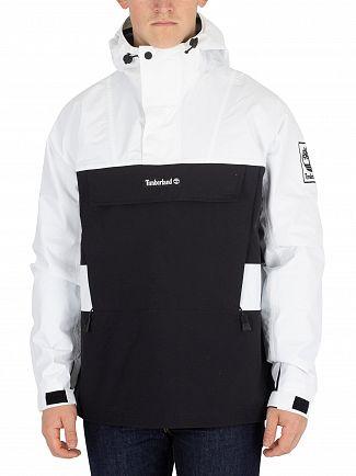 Timberland White/Black Lightweight Pullover Jacket