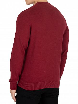 Tommy Hilfiger Rhubarb Heather Pima Cotton Cashmere Knit