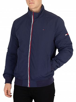Tommy Jeans Black Iris Essential Padded Jacket