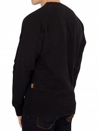 Vivienne Westwood Black Classic Graphic Sweatshirt