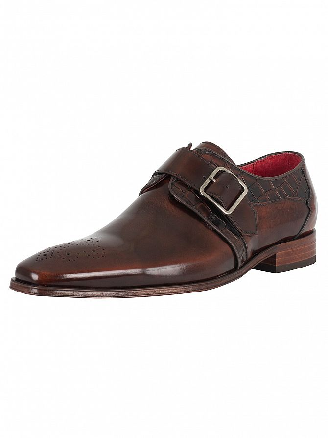 Jeffery West College Mid Brown/Antick Mid Brown Scarface Shoes