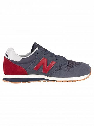 New Balance Outerspace/Scarlet 520 Suede Trainers