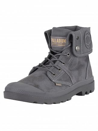 Palladium French Metal/Forged Iron Pallabrouse Baggy Wax Boots