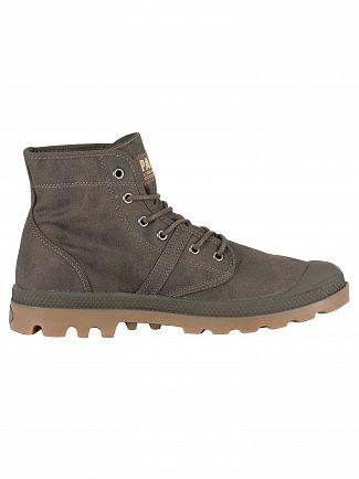 Palladium Major Brown/Gum Pallabrouse Wax Boots