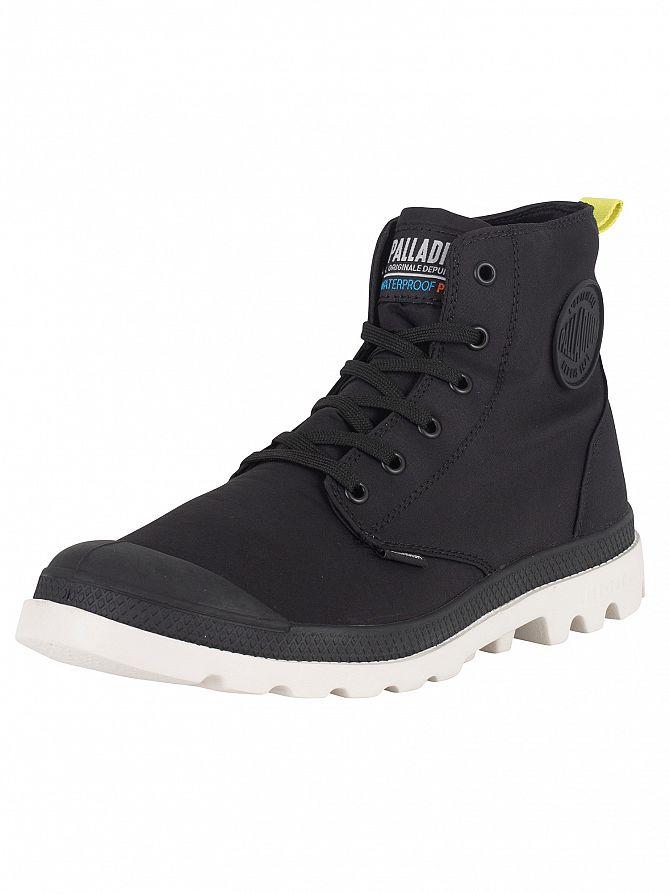 Palladium Black/Moonbeam Pampa Puddle Lite WP WB Boots