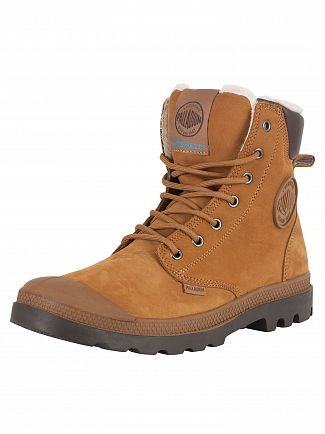 Palladium Mahogany/Chocolate Pampa Sport WPS Boots