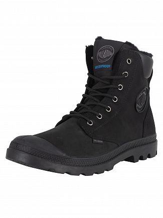 Palladium Black/Black Pampa Sport WPS Boots