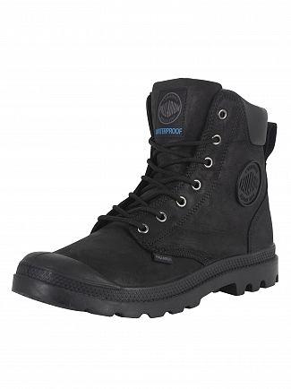 Palladium Black/Black Sport Cuff WP Lux Boots