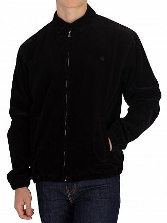 Carhartt WIP Black Rinsed Madison Jacket