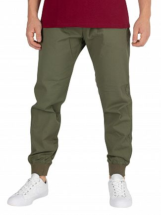 Carhartt WIP Rover Green Rinsed Madison Joggers