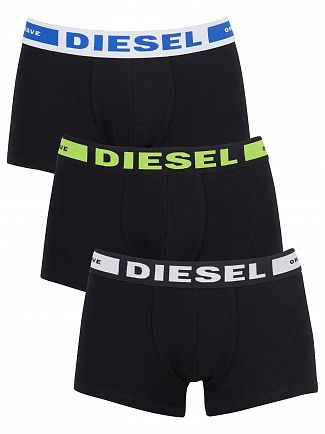 Diesel White/Green/Blue 3 Pack Kory Instant Looks Trunks