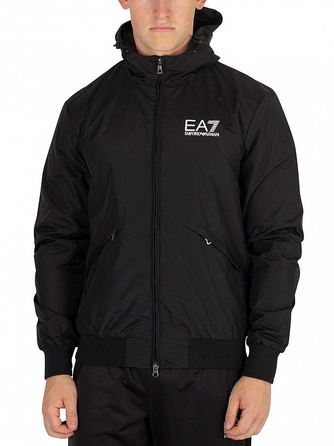 EA7 Black Bomber Jacket