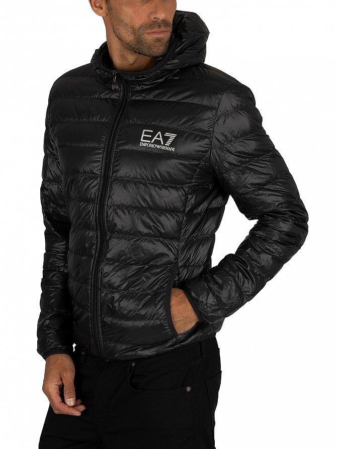 EA7 Homme Doudoune, Noir   eBay 3fe40254e4db