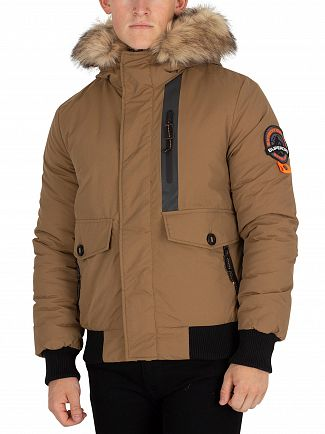 Superdry Flaxon Everest Parka Bomber Jacket