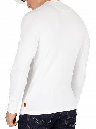 Superdry Optic Heritage Grandad Longsleeved T-Shirt