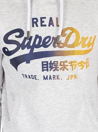 Superdry Ice Marl Vintage 1st Pullover Hoodie
