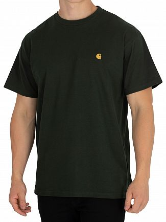Carhartt WIP Loden/Gold Chase T-Shirt