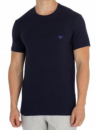 Emporio Armani Marine/Mazarine 2 Pack Crew T-Shirt