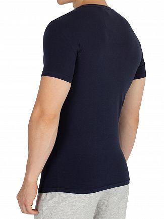 Emporio Armani Marine Mega Logo T-Shirt